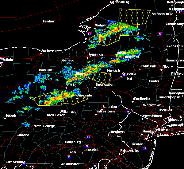 Radar Image for Severe Thunderstorms near Cortland West, NY at 6/13/2018 7:57 PM EDT