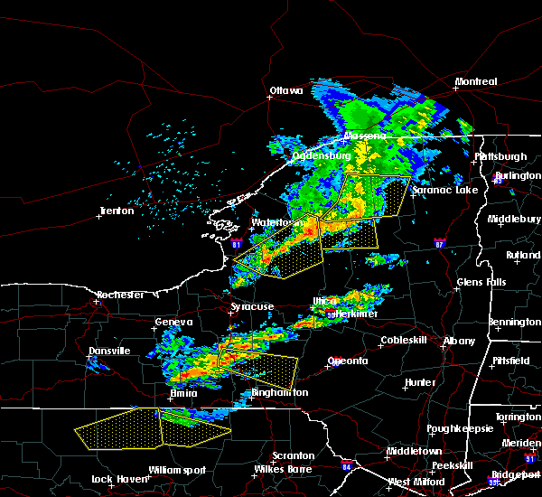 Radar Image for Severe Thunderstorms near Paul Smiths, NY at 6/13/2018 8:00 PM EDT