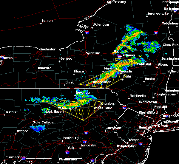 Radar Image for Severe Thunderstorms near Sugar Notch, PA at 6/13/2018 9:01 PM EDT