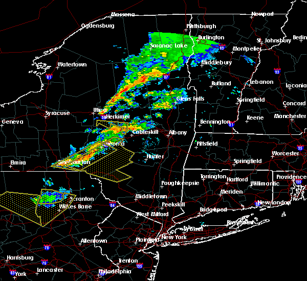 Radar Image for Severe Thunderstorms near Livingston Manor, NY at 6/13/2018 9:13 PM EDT