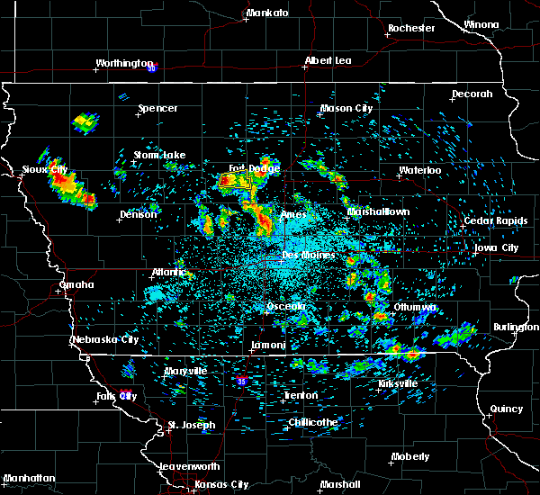 Fort Dodge Radar Interactive Hail Maps Hail Map For Fort