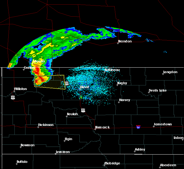Radar Image for Severe Thunderstorms near Powers Lake, ND at 6/14/2018 12:32 PM CDT