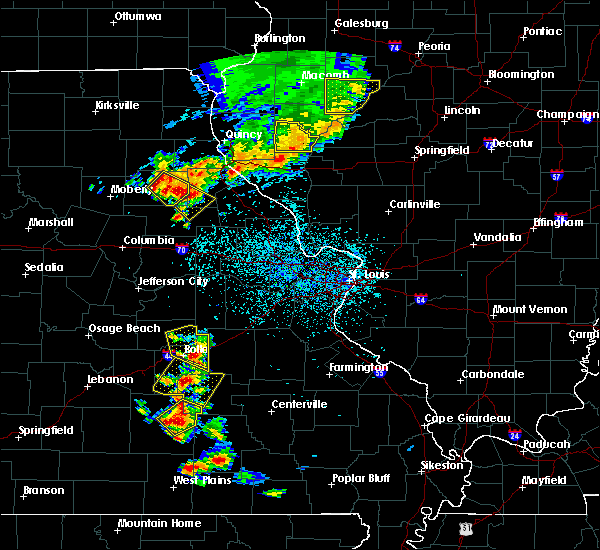 Radar Image for Severe Thunderstorms near Stoutsville, MO at 6/14/2018 2:44 PM CDT