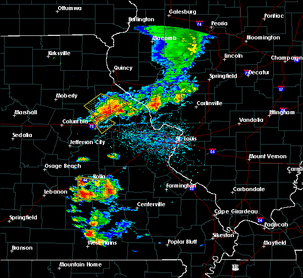 Radar Image for Severe Thunderstorms near Bellflower, MO at 6/14/2018 3:48 PM CDT