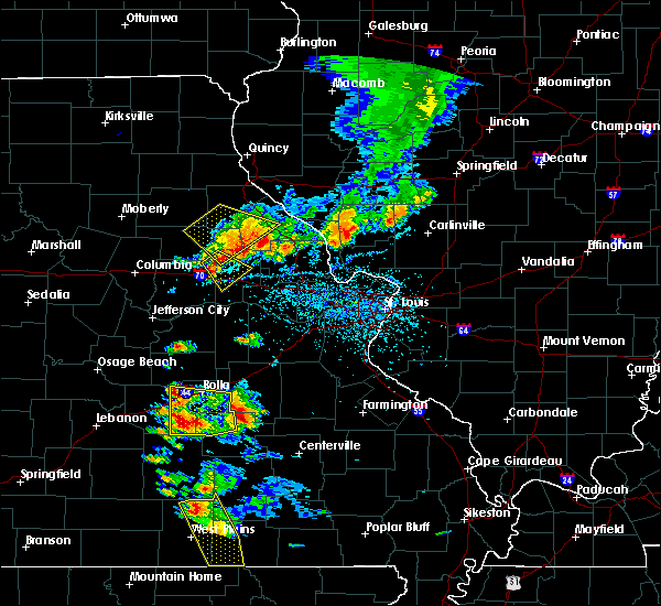 Radar Image for Severe Thunderstorms near Bowling Green, MO at 6/14/2018 3:57 PM CDT