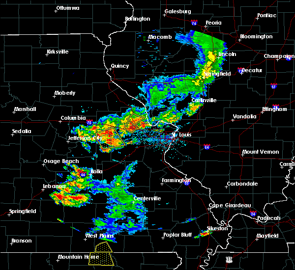 Radar Image for Severe Thunderstorms near Big Spring, MO at 6/14/2018 4:48 PM CDT