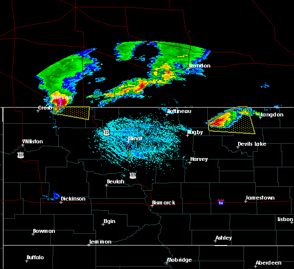 Radar Image for Severe Thunderstorms near Portal, ND at 6/14/2018 5:07 PM CDT