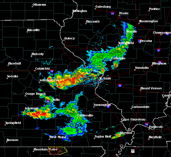 Radar Image for Severe Thunderstorms near St. Peters, MO at 6/14/2018 5:10 PM CDT