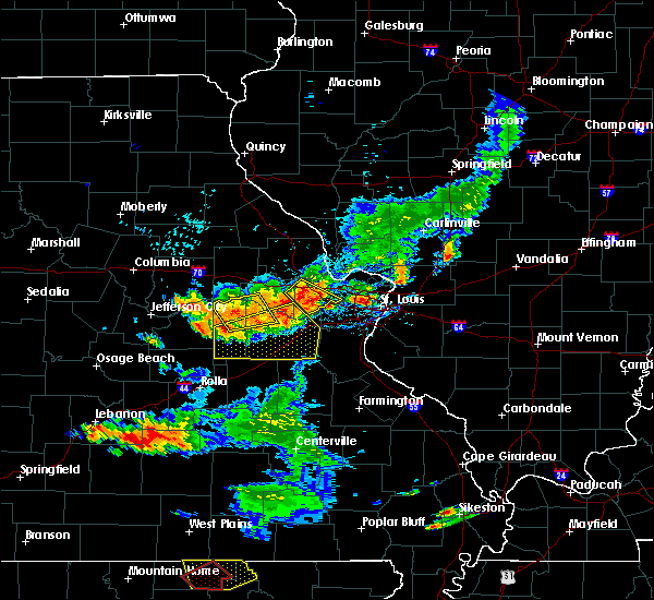 Radar Image for Severe Thunderstorms near New Haven, MO at 6/14/2018 5:17 PM CDT