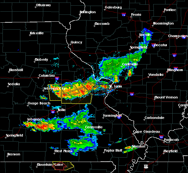 Radar Image for Severe Thunderstorms near Chamois, MO at 6/14/2018 5:22 PM CDT