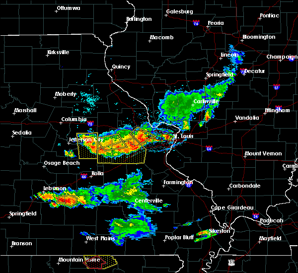 Radar Image for Severe Thunderstorms near New Haven, MO at 6/14/2018 5:26 PM CDT