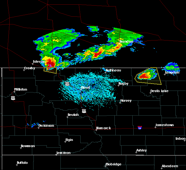 Radar Image for Severe Thunderstorms near Portal, ND at 6/14/2018 5:32 PM CDT
