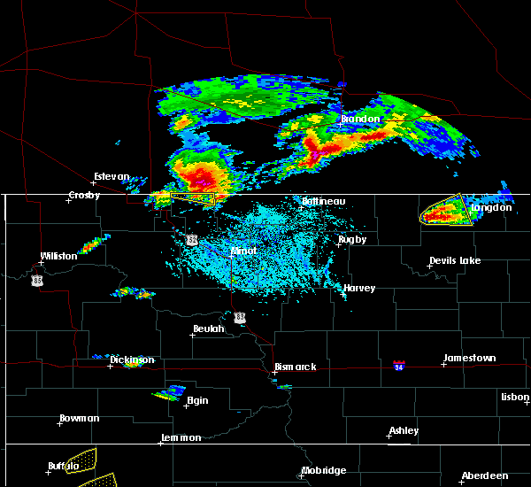 Radar Image for Severe Thunderstorms near Wales, ND at 6/14/2018 6:15 PM CDT