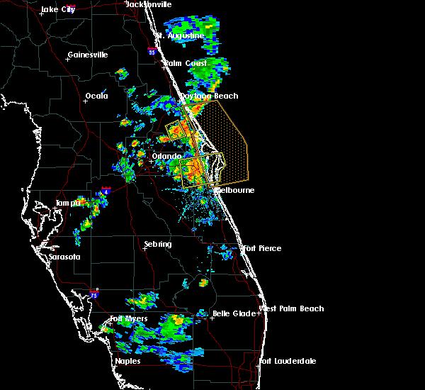 Radar Image for Severe Thunderstorms near Deltona, FL at 6/14/2018 7:45 PM EDT