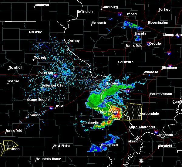 Radar Image for Severe Thunderstorms near Chester, IL at 6/14/2018 8:08 PM CDT