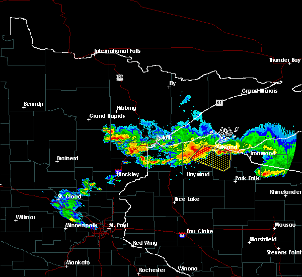 Radar Image for Severe Thunderstorms near Mellen, WI at 6/15/2018 2:14 PM CDT