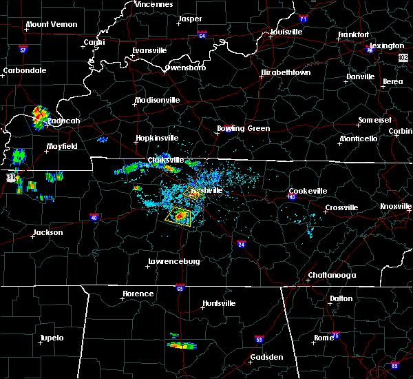 Radar Image for Severe Thunderstorms near Nashville, TN at 6/15/2018 5:57 PM CDT