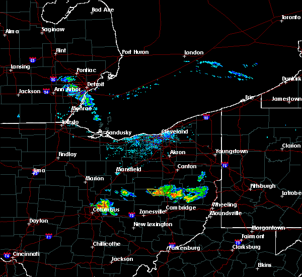 Radar Image for Severe Thunderstorms near Baltic, OH at 6/16/2018 3:27 PM EDT