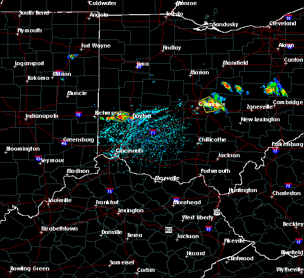 Radar Image for Severe Thunderstorms near New Lebanon, OH at 6/16/2018 3:44 PM EDT