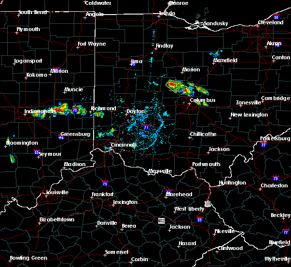 Radar Image for Severe Thunderstorms near Richwood, OH at 6/16/2018 6:46 PM EDT