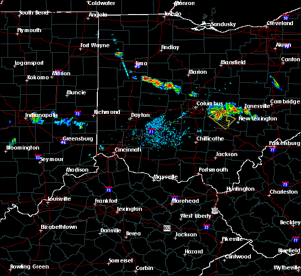 Radar Image for Severe Thunderstorms near Brownsville, OH at 6/16/2018 8:27 PM EDT
