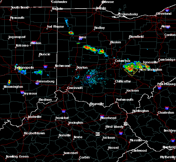 Radar Image for Severe Thunderstorms near Brownsville, OH at 6/16/2018 8:36 PM EDT