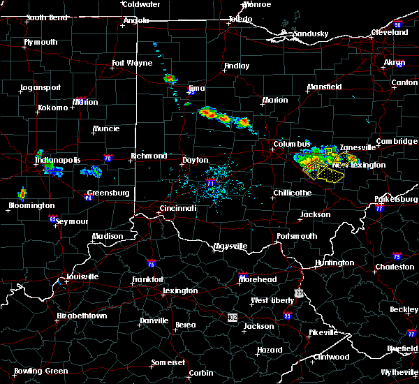 Radar Image for Severe Thunderstorms near New Lexington, OH at 6/16/2018 8:46 PM EDT