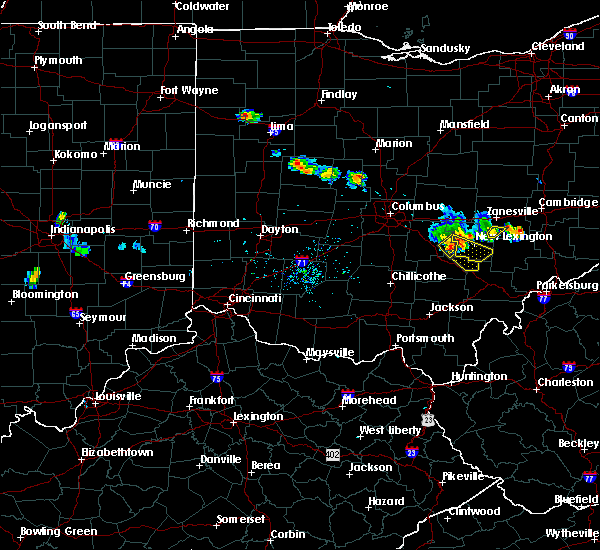 Radar Image for Severe Thunderstorms near Logan, OH at 6/16/2018 8:58 PM EDT