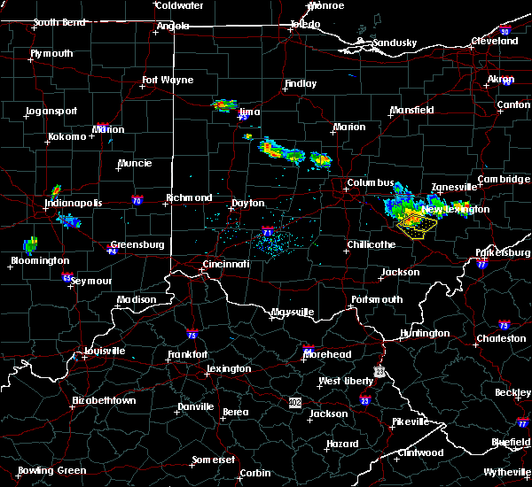 Radar Image for Severe Thunderstorms near New Lexington, OH at 6/16/2018 9:04 PM EDT