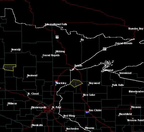 Radar Image for Severe Thunderstorms near Minong, WI at 6/16/2018 9:26 PM CDT