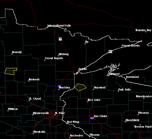 Radar Image for Severe Thunderstorms near Minong, WI at 6/16/2018 9:38 PM CDT