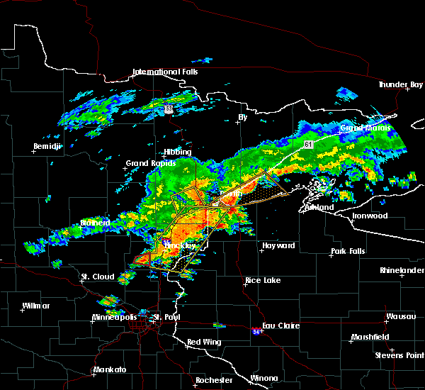 Radar Image for Severe Thunderstorms near Esko, MN at 6/17/2018 2:53 PM CDT