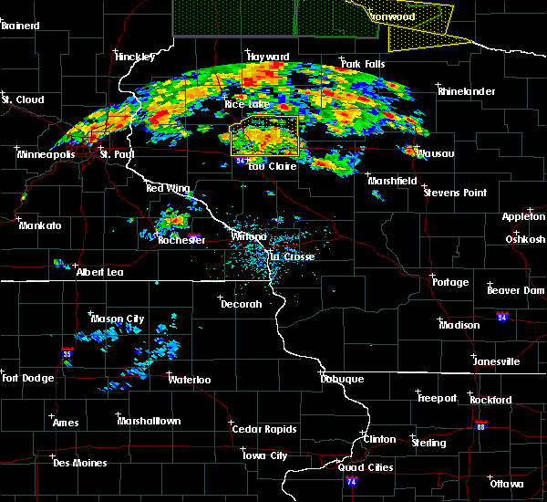 Radar Image for Severe Thunderstorms near Greenwood, WI at 6/17/2018 5:33 PM CDT