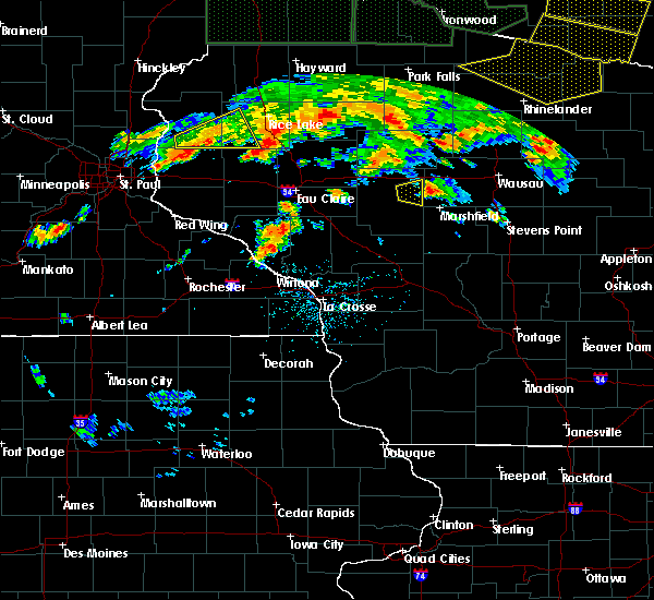 Radar Image for Severe Thunderstorms near Colby, WI at 6/17/2018 6:13 PM CDT