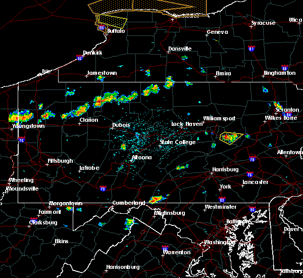Radar Image for Severe Thunderstorms near Almedia, PA at 6/18/2018 1:55 PM EDT