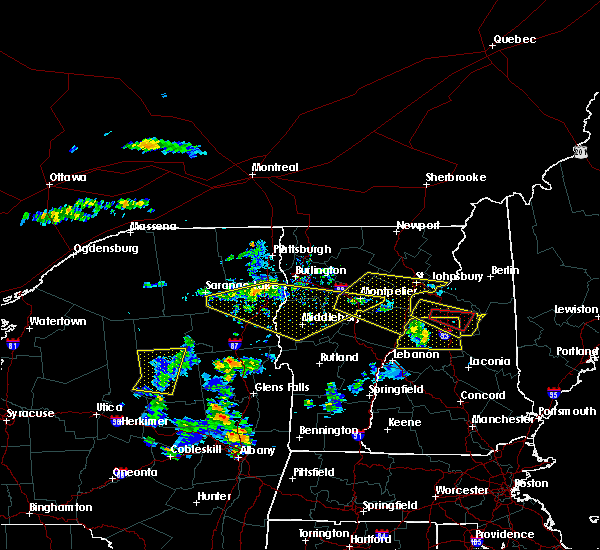 Radar Image for Severe Thunderstorms near Wilmington, NY at 6/18/2018 3:41 PM EDT