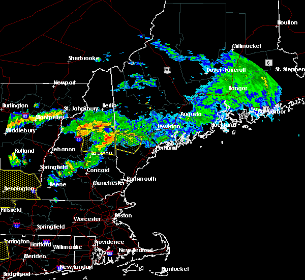 Radar Image for Severe Thunderstorms near Standish, ME at 6/18/2018 4:33 PM EDT