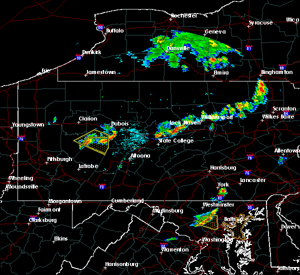 Radar Image for Severe Thunderstorms near Smicksburg, PA at 6/18/2018 4:33 PM EDT