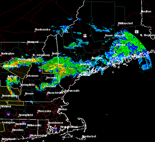 Radar Image for Severe Thunderstorms near Standish, ME at 6/18/2018 4:46 PM EDT