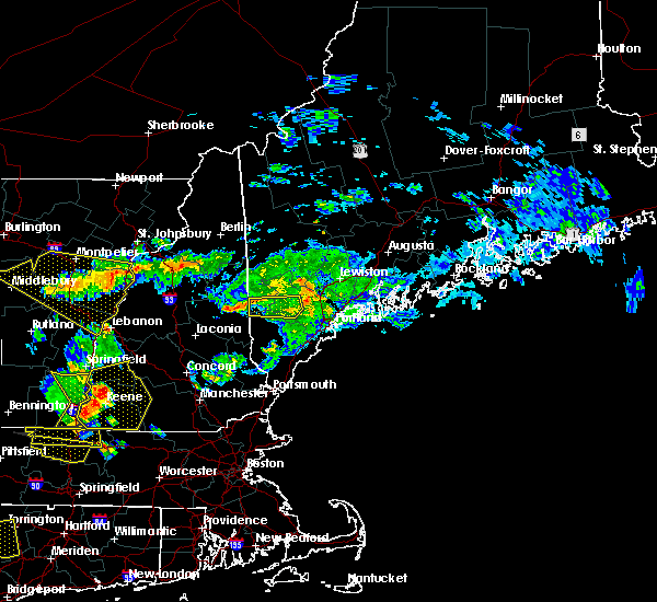 Radar Image for Severe Thunderstorms near Standish, ME at 6/18/2018 5:14 PM EDT