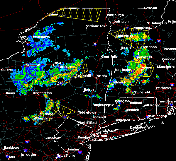 Radar Image for Severe Thunderstorms near Gloversville, NY at 6/18/2018 5:21 PM EDT