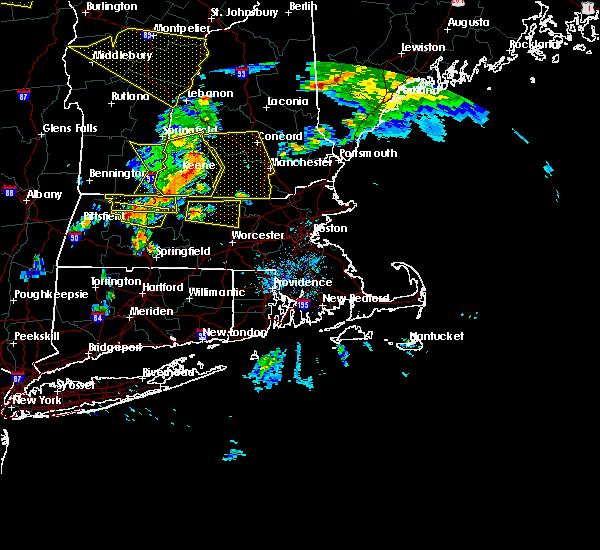 Radar Image for Severe Thunderstorms near Hudson, NH at 6/18/2018 5:27 PM EDT