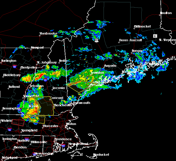 Radar Image for Severe Thunderstorms near Standish, ME at 6/18/2018 5:39 PM EDT