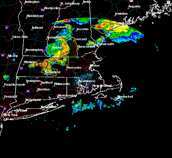 Radar Image for Severe Thunderstorms near Chicopee, MA at 6/18/2018 5:49 PM EDT