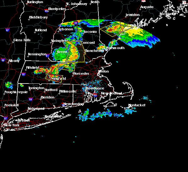 Radar Image for Severe Thunderstorms near Chicopee, MA at 6/18/2018 5:52 PM EDT