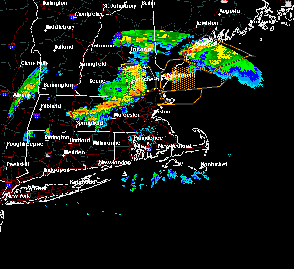 Radar Image for Severe Thunderstorms near Portsmouth, NH at 6/18/2018 6:20 PM EDT