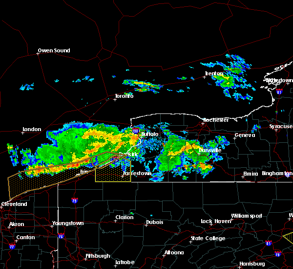 Radar Image for Severe Thunderstorms near Chautauqua, NY at 6/18/2018 6:44 PM EDT