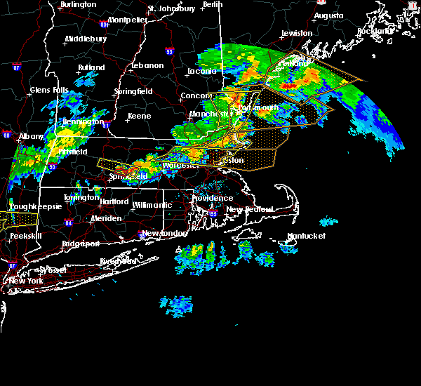 Radar Image for Severe Thunderstorms near Nahant, MA at 6/18/2018 6:53 PM EDT