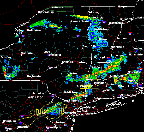 Radar Image for Severe Thunderstorms near Housatonic, MA at 6/18/2018 7:37 PM EDT
