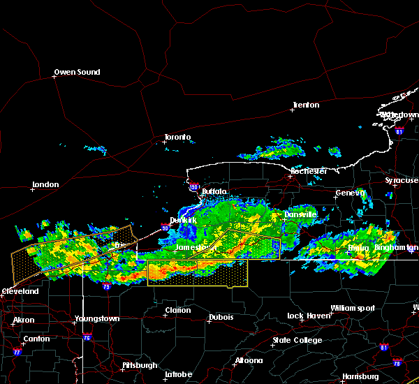Radar Image for Severe Thunderstorms near Stannards, NY at 6/18/2018 8:20 PM EDT